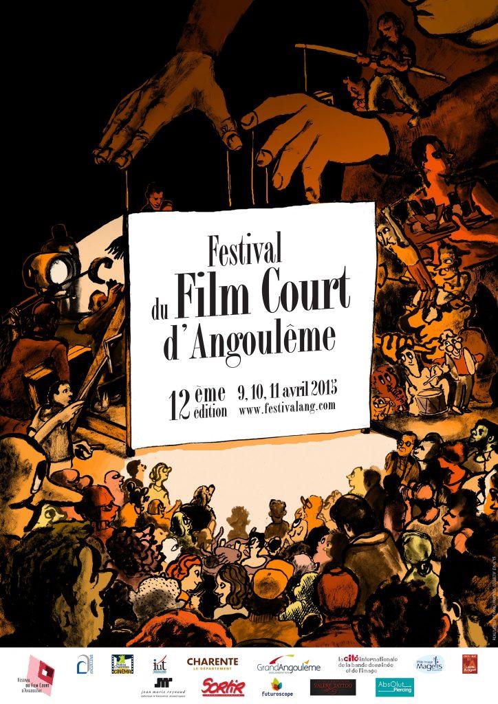 Affiche Festival du Film Court d'Angoulême 2015